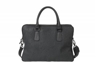 Business Bag - Præget Sællæder - NEW Size